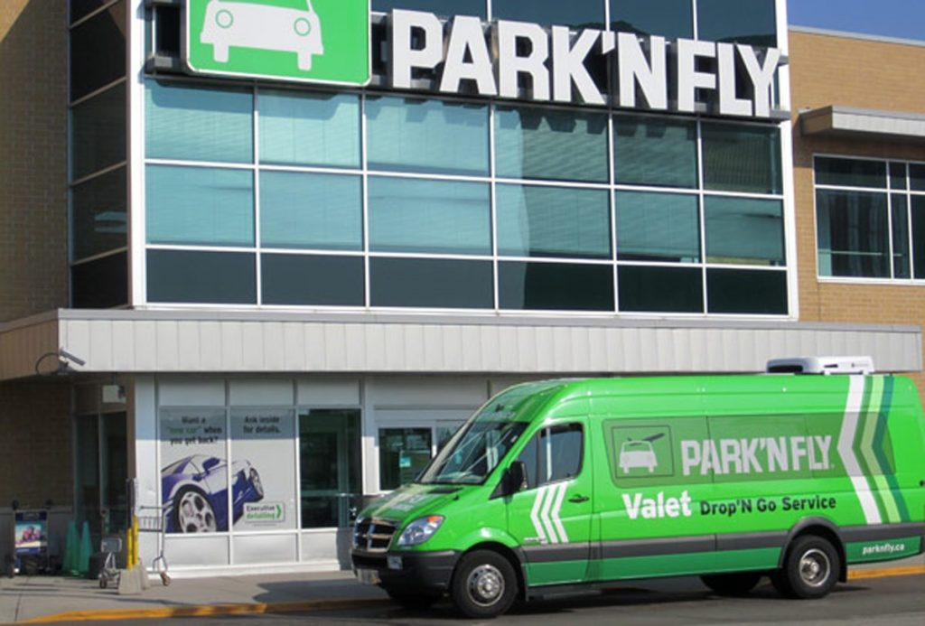 EV Commercial Installation at PARK'N FLY TORONTO AIRPORT by EVdirect