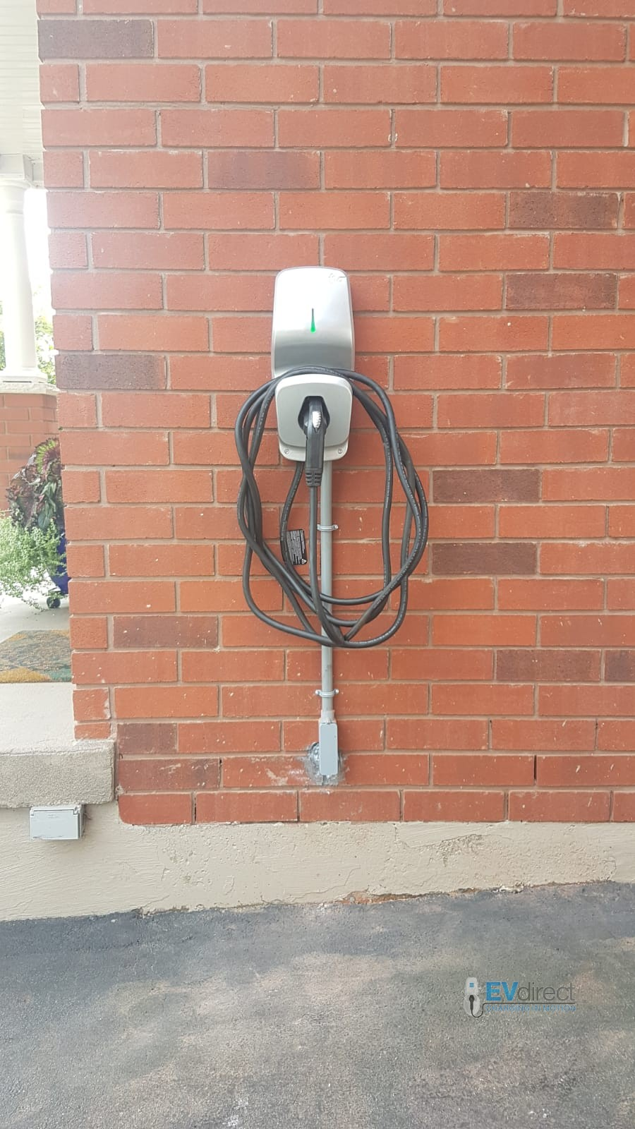 Residential EV Charging Station Project pictures in ontario  EVdirect
