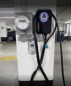 Charge Point EV With Sub Meter
