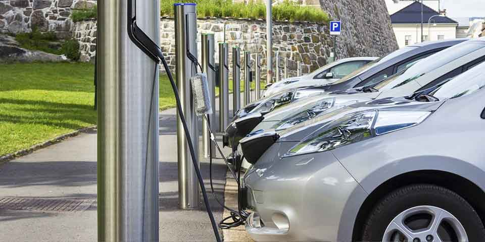 commercial EV Charging Station installation
